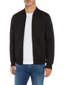 Duck and Cover Gryon 3 layer quilted zip through