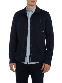 Duck and Cover Gattaca large check overshirt.