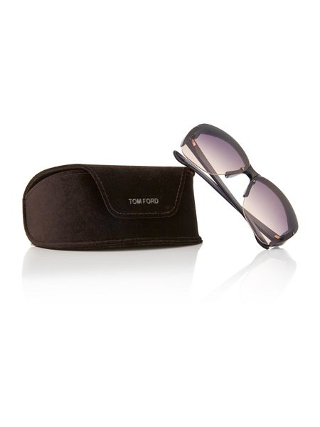 Tom Ford Sunglasses Grey irregular TR000736 sunglasses