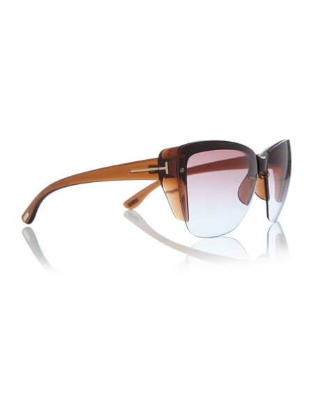 Tom Ford Sunglasses Brown irregular TR000736 sunglasses