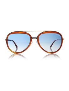 Tom Ford Sunglasses Tortoise pilot TR000739 sunglasses