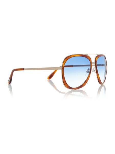 Tom Ford Sunglasses Tortoise pilot TR000737 sunglasses