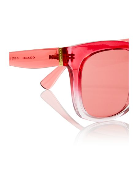 Coach Red square HC8173 sunglasses