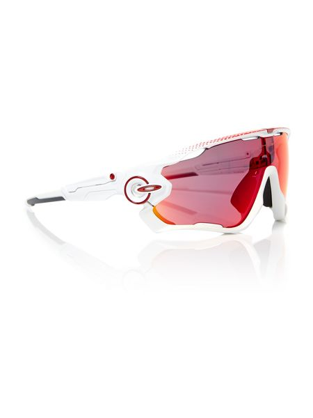 Oakley White rectangle OO9290 sunglasses