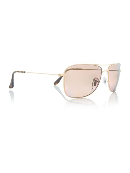 Ray-Ban Gold pilot RB3543 sunglasses