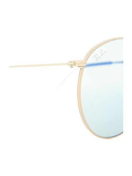 Ray-Ban Gold round RB3532 sunglasses