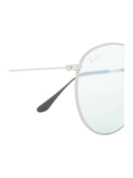 Ray-Ban Silver round RB3532 sunglasses