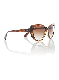 Havana cat eye VO5050S sunglasses