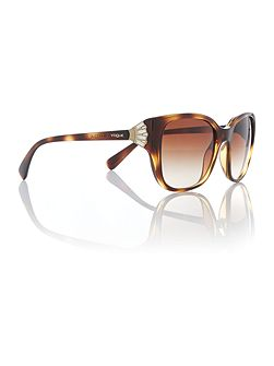 Havana square VO5061SB sunglasses