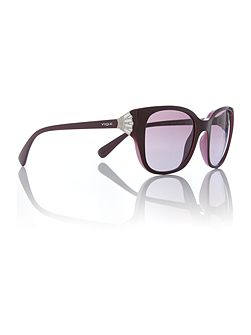 Purple square VO5061SB sunglasses