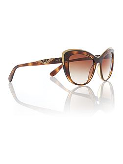 Havana cat eye VO5054S sunglasses