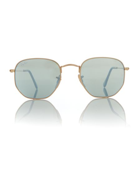 Ray-Ban Gold square RB3548N sunglasses