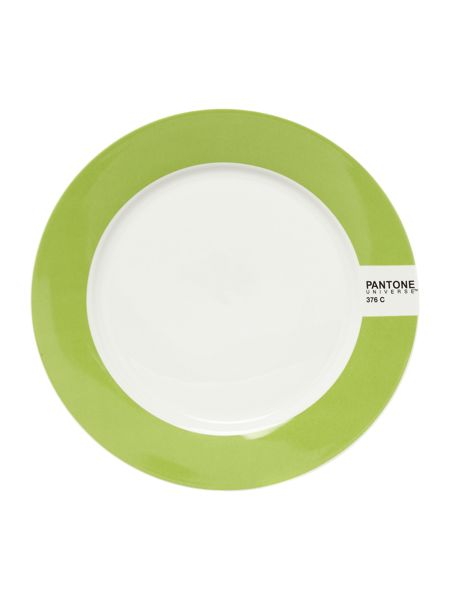 Pantone Small plate luca trazzi bright green