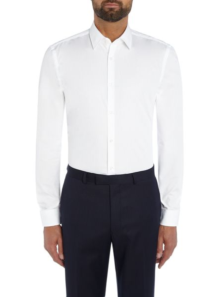 Hugo Boss Jarret Cut and Sew Collar Detail Shirt