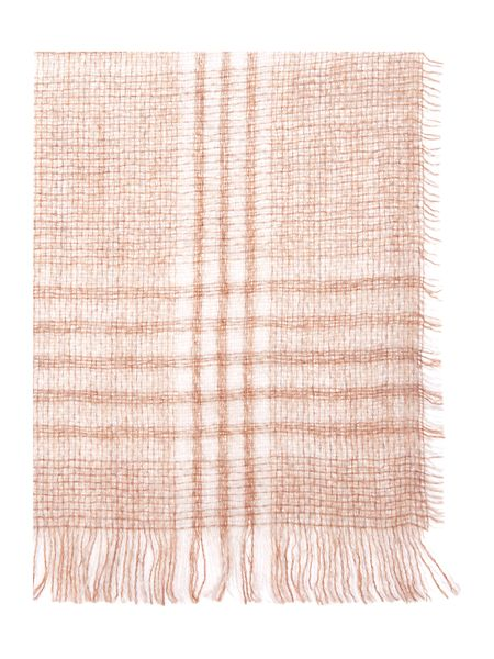 Max Mara Giotto checked wool scarf