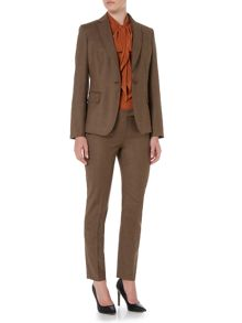 Max Mara Baiardo pleated slim leg trouser