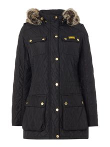 Barbour International enduro quilt