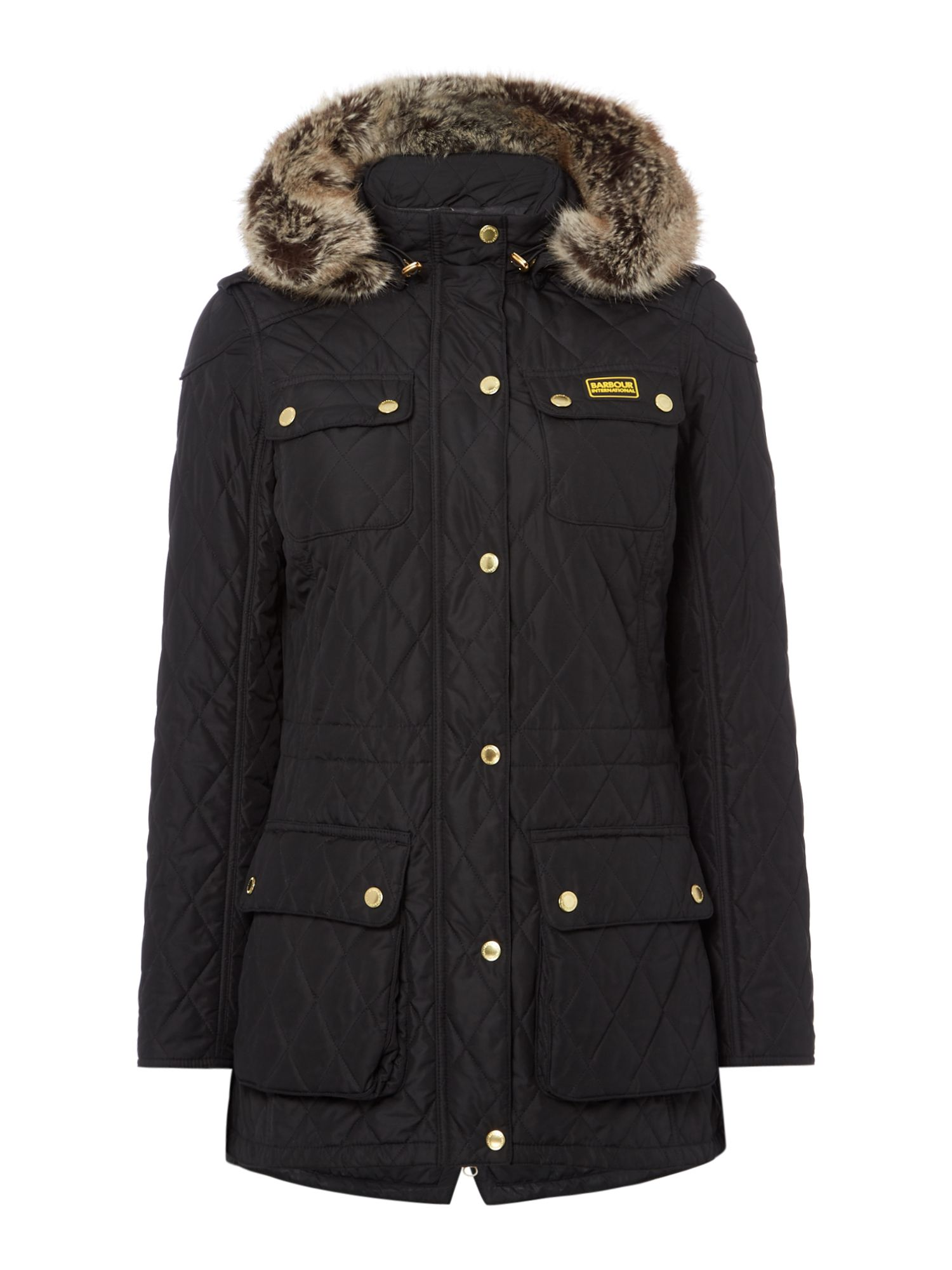 Barbour International Enduro Quilt, Black