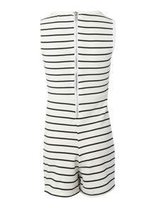 Blush Girls Stripe Playsuit