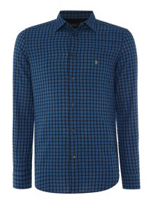 Diesel Regular fit long sleeve gingham check shirt