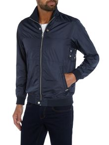 Diesel Nylon zip through harrington jacket