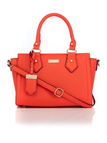 Juno Orange cross-body tote bag