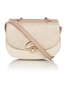 Juno Multi-colour taupe cross-body bag