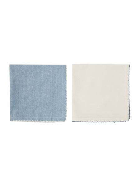 Dickins & Jones Cross weave napkins set of 4