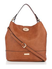 Juno Tan bucket bag