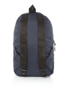 Armani Jeans Ripstop Foldaway Backpack