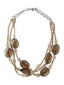 Marella Eraclea beaded necklace