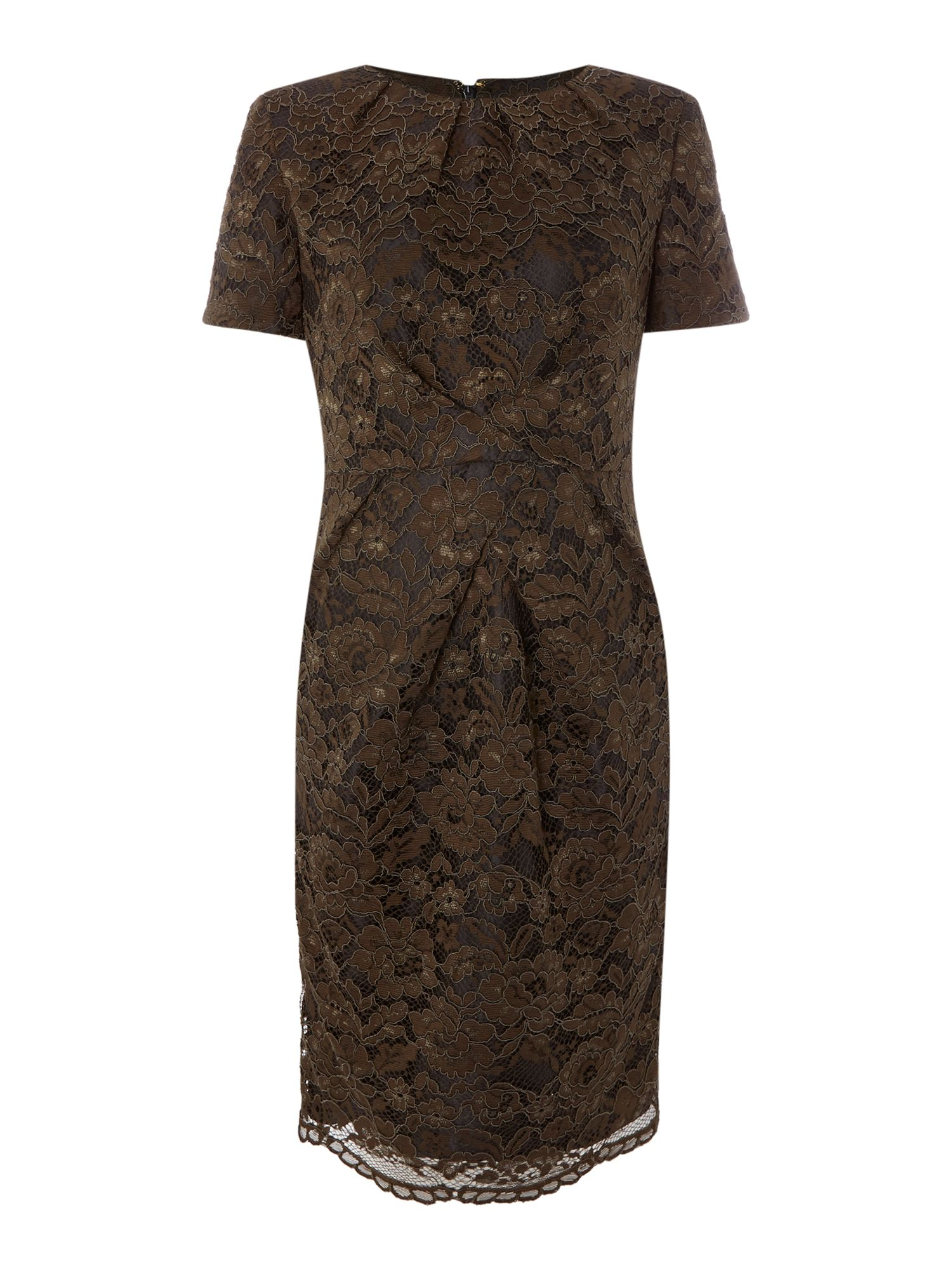 Linea Ava lace dress, Khaki
