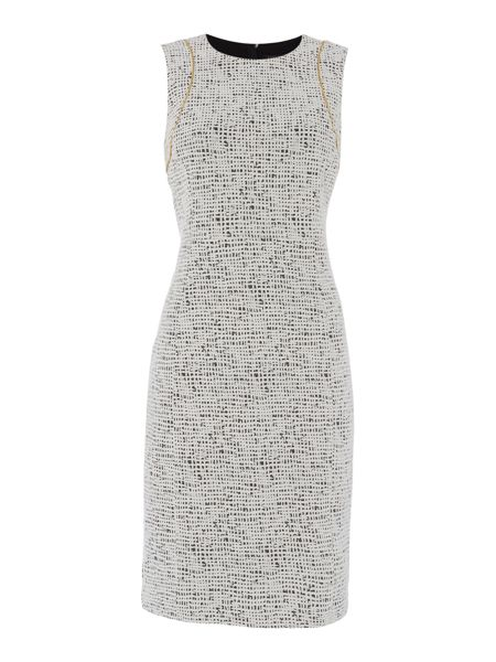 Episode Printed dress with zip detail