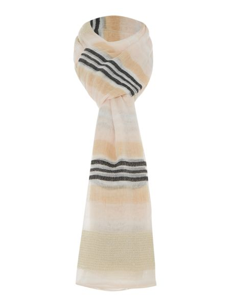 Pieces Long check scarf