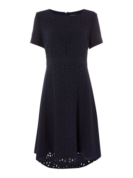 Linea Verity Laser Cut Dress