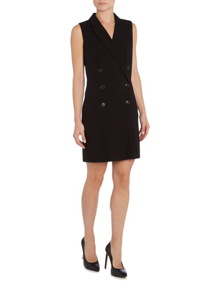Ellen Tracy Double breasted waistcoat dress