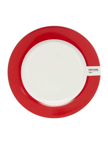 Pantone Medium plate luca trazzi red