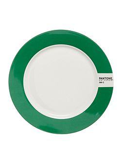Medium plate luca trazzi bright green