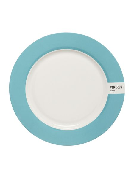 Pantone Medium plate luca trazzi blue