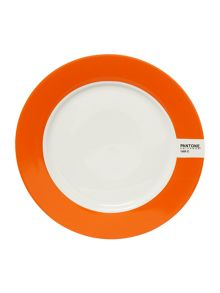 Pantone Medium plate luca trazzi orange