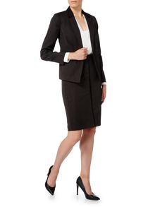 Linea Textured tailored jacket