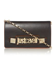 Just Cavalli Black cross body bag