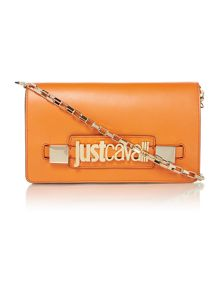 Just Cavalli Orange cross body bag