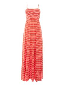 Dickins & Jones Stripe Bandeau Maxi Dress