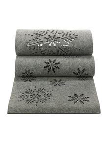 Linea GREY FELT RUNNER - STAR DESIGN