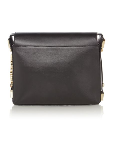 Just Cavalli Black fold over bag