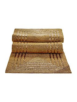Gold Beaded Runner