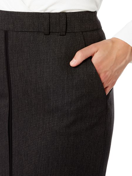 Linea Textured tailored pencil skirt