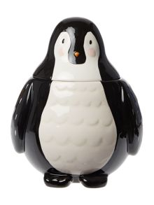 Linea Penguin Cookie Jar