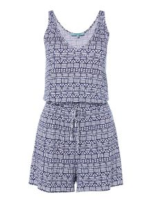 Dickins & Jones Tribal Print Playsuit
